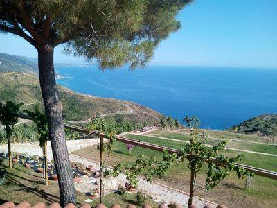 Photo for Apartment in villa of 80 square meters, breathtaking view