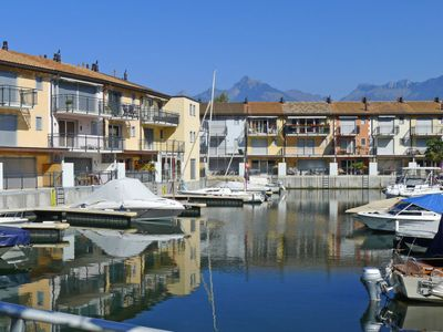 Photo for Le Bouveret Apartment, Sleeps 4 with WiFi