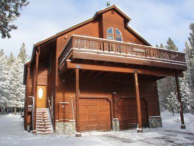 Photo for Sunny Chalet with Hot Tub and Wifi - Perfect Family Getaway