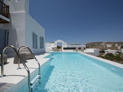 Photo for 3 Bedroom Villa Pearl with Private Pool in Ornos Mykonos