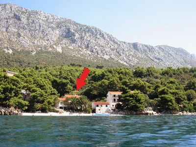 Photo for Apartment in Zaostrog (Makarska), capacity 2+2