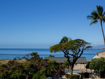 Photo for Enjoy miles of Beach Walking & Sunbathing from this Oceanview 2 bedroom condo