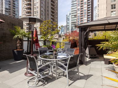 Photo for A Gem In The Heart Of Yaletown - Comes With A 750 Sq Foot Private Patio