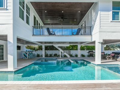 Photo for Luxury home with AMAZING backyard Pool and Spa! So close to beach and shopping!