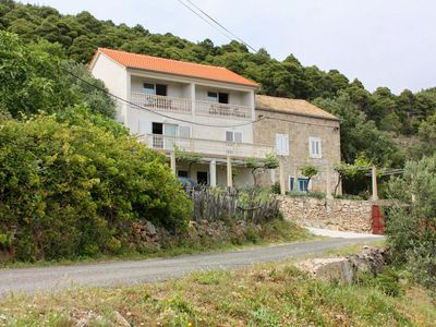 Photo for Studio appartment in Ropa (Mljet) capacity 2+1