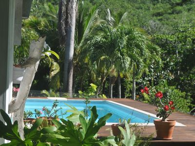 Photo for Bohemian tropical cottage, homestay 5 minutes from the Diamant beach ...