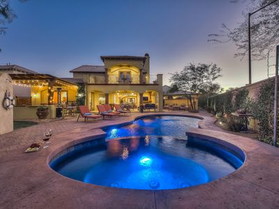 Photo for *Desert Paradise* 5bed/5ba - Pool, Spa, Sport Court, Game Room