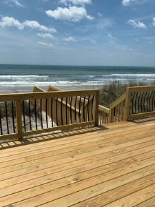 Photo for Adorable oceanfront beach cottage on Topsail Island