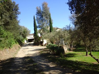Photo for Detached villa in the Provencal countryside between Hyeres and St Tropez