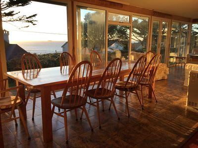 Photo for Seaside House, huge living room opens onto elevated lawn. 2-minute walk to beach