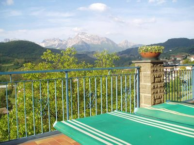 Photo for Family-friendly apartment, up to 6 persons, wonderful terrace and view