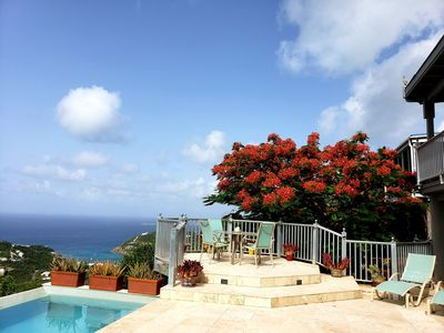 Photo for Villa L'Agave - Your Tropical Rendezvous Paradise