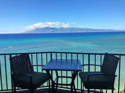 Photo for Private Corner Unit-8th Floor- Oceanfront Panoramic Views in Lahaina!