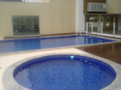 FIT 2 QTOS, SUITE, POOL, BARBECUE. AIR CONDITIONING, NEAR THE SEA