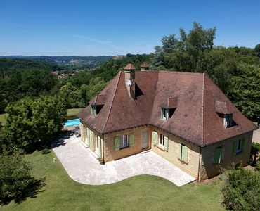Photo for Large Périgourdine house with an exceptional panorama, for 12 people