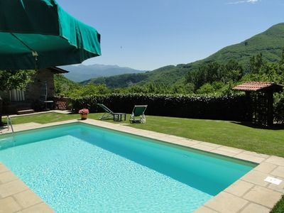 Photo for Very private Sympathetically Restored Barn With Private Pool, Country Views WIFI
