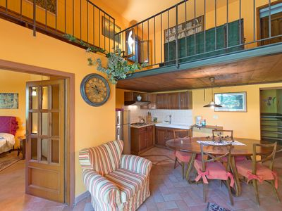 Photo for 2 bedroom Apartment, sleeps 5 in Tavarnelle Val di Pesa with Pool and WiFi