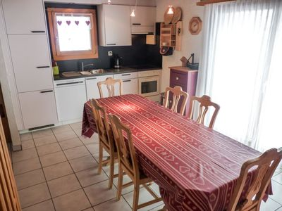 Photo for Vacation home La Paisible in Ovronnaz - 8 persons, 4 bedrooms