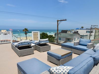 Photo for #715B - Brand-new & luxurious with roof deck, 50 feet from Ocean