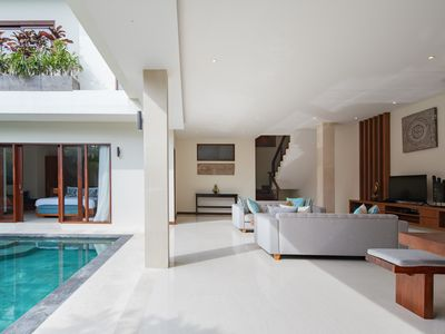 Photo for Two Bedroom Luxury Villa with Private Balcony