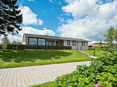 Photo for A lavish holiday home in Juelsminde by the sea