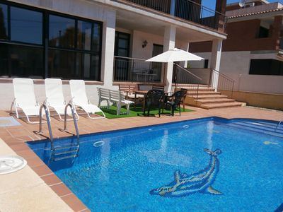 Photo for Casa Tere 5 bedrooms and 5 bathrooms-POOL SEA 800 METERS