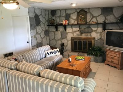 Photo for Lake Rouseau Waterfront PET FRIENDLY,,Wifi,great sunsets,fireplace & firepit