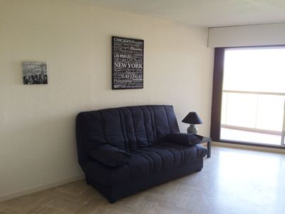 Photo for 2 room apartment in a quiet view of golf with pool in Mandelieu-La Napoule