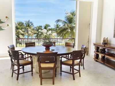 Photo for Capcana Beach Condo;4 BR;2 Identical Masters;Maid Inc; golf/beach;fully screened