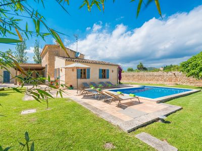 Photo for ES MOLI (SON COMPARET) - Villa with private pool in son Servera.