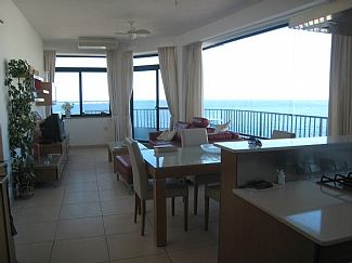 Kitchen/Dining/Living with Breathtaking Seaviews