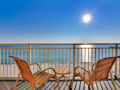 Photo for Waterfront condo w/ private balcony, shared pool, fitness center, & beach access