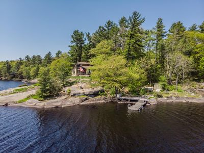 Photo for Brandy on the Rocks ~ a perfect family retreat on Brandy Lake!