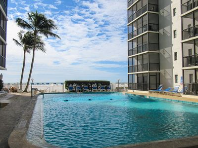 Photo for Your Piece of Paradise! Super 2B/2B Beachfront Condo At Island Winds, Heated Pool, Tennis, WiFi