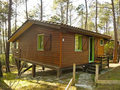 Photo for Vacation home Chalet du Golf in Lacanau - 6 persons, 2 bedrooms