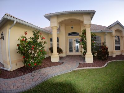 Photo for Southern Exposure WATERFRONT Gulf Access 4 bed 3 bath Villa Amazing View