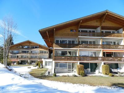 Photo for Apartment La Sarine 20 in Gstaad - 4 persons, 1 bedrooms