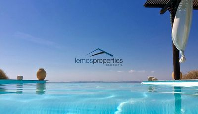 Photo for Luxurious villa with a swimming pool and sea view and amazing sunset views.