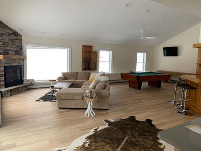 Photo for Ski Mountain Chalet w/ Hot tub, Fireplace, Game Room -Windham Mountain