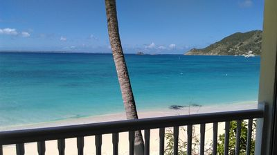 ON THE BEACH  CONDO WITH PANORAMIC VIEW ON GRAND CASE BEACH