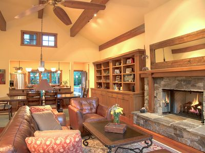 Photo for Luxury Chalet with Three Master Suites, 4 bed/4.5 bath, BEST Location in Ketchum