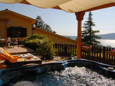 Country House Glicine with Jacuzzi for holiday in Lazio around Rome