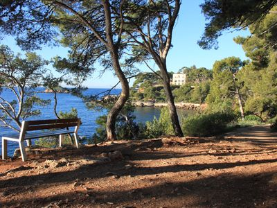 Photo for Bandol, beach on foot, 85m2, private garden.
