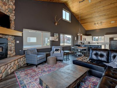 Photo for FLEXIBLE CANCELLATIONS! Mountain to Meadow Ski Chalet
