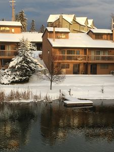 Photo for All-Seasons Townhouse ON Whitefish River, walk to town (30d)