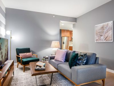 Photo for Spacious Downtown 1BR w/ Doorman, near Disney Hall by Blueground