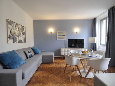 Photo for Opale apartment in Centro Storico with WiFi, integrated air conditioning & lift.