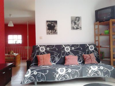 Photo for Apartment Sweetheart first floor 200m beach