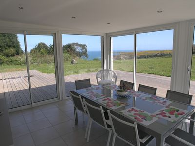 Photo for Exceptional panoramic views of the sea and on the coast of the Cotentin.