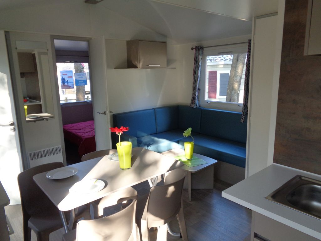 MOBILE HOME NEUF SUR CAMPING 4 ETOILES